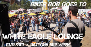 daytona bikeweek at the white eagle lounge