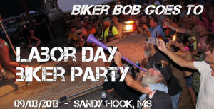 labor day biker party