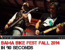 Bama Bike Fest 2015 fall in 90 seconds