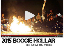 Boogie Hollar motorcycle rally 2015