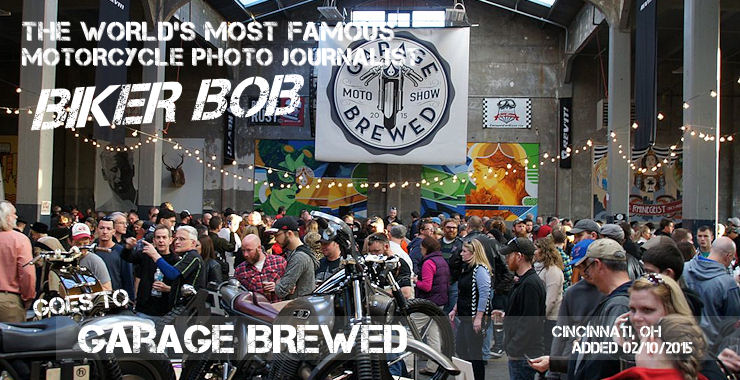 Garage Brewed Motorcycle show 2015