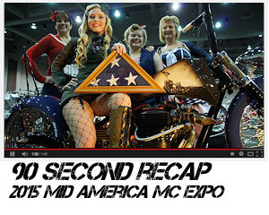 Mid America Motorcycle Expo 2015 in 90 seconds