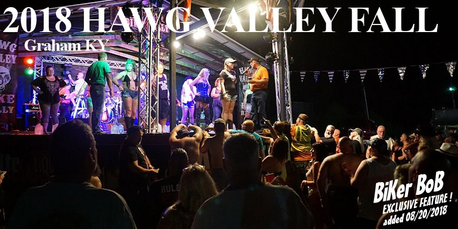 2018 Hawg Valley fall rally