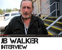 Exclusive interview with JB Walker from the JB Walker & the Cheap Whiskey band